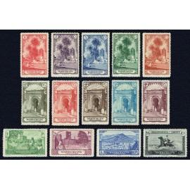 1928 ED. Marruecos 105/118 (**)