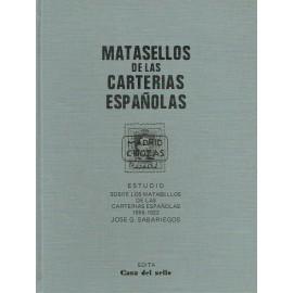 MATASELLOS DE LAS CARTERÍAS ESPAÑOLAS