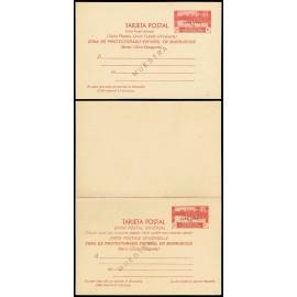 1935 ED. 3M/4M * Enteros Postales Cabo Juby