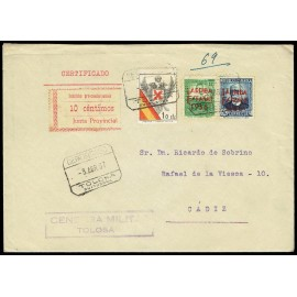 1936 ED. ELP San Sebastián 08, 15 us
