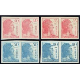 1938 ED. 751s/754s **/(*) [x2]