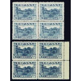 1936 ED. 809, 809a ** [x4]
