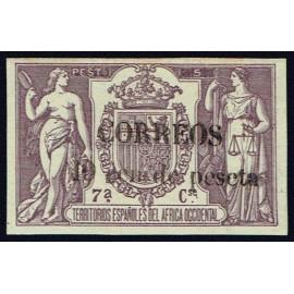 1909 ED. Elobey, Annobón y Corisco 50Mhea *