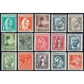 1948 ED. Tánger 151/165 **