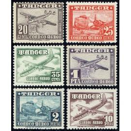 1948 ED. Tánger 166/171 **