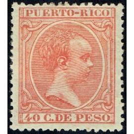 1890 ED. Puerto Rico 84 *