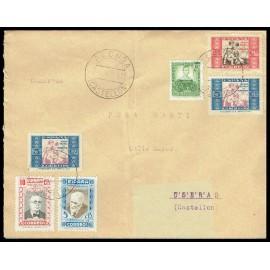 1934-1937 ED. Beneficencia 1 [x2], 3, 12/13