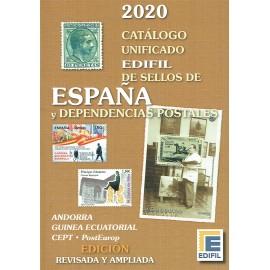 CATÁLOGO UNIFICADO EDIFIL DE SELLOS DE ESPAÑA Y DEPENDENCIAS POSTALES 2020