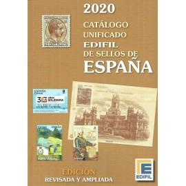 CATÁLOGO UNIFICADO EDIFIL DE SELLOS DE ESPAÑA 2020