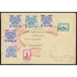 1937 ED. Canarias 31/33, 33hh, 33hi us