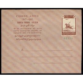 1949 ED. 01 * Aerogramas Marruecos