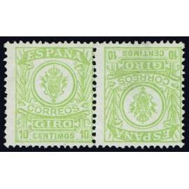 1911 ED. Giro Postal 2ii **