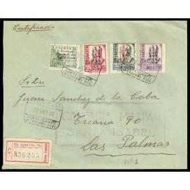 Colonias Españolas ED. Guinea 256/259