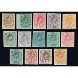 1909 ED. 267s/280s *