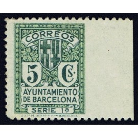 1932-1935 ED. Barcelona 09smd *