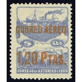 1937 ED. Asturias NE 15hcc *
