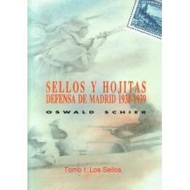 SELLOS Y HOJITAS DEFENSA DE MADRID 1938-1939
