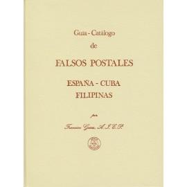 GUÍA-CATÁLOGO DE FALSOS POSTALES - ESPAÑA - CUBA - FILIPINAS