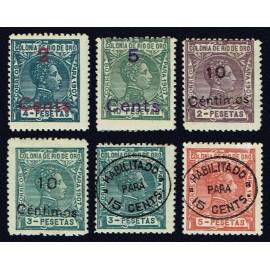 1911 ED. Río de Oro 59/64 *