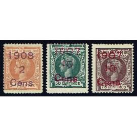 1907 ED. Río de Oro 34/36 *