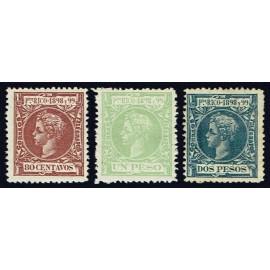 1898 ED. Puerto Rico 147/149 *
