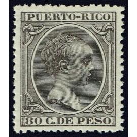 1896 ED. Puerto Rico 129 **