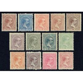 1894 ED. Puerto Rico 102/114 *