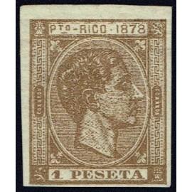 1878 ED. Puerto Rico 22s *