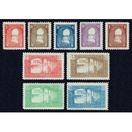 1938 ED. Marruecos Telégrafos 42/50 *