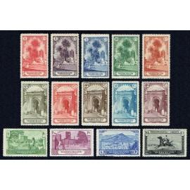1928 ED. Marruecos 105/118 **