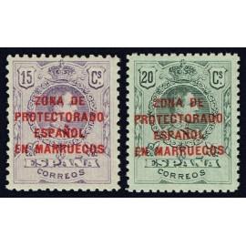 1916 ED. Marruecos NE 3/4 *