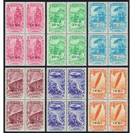 1943 ED. Ifni Beneficencia 7/12 ** [x4] (2)
