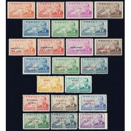 1941-1949 ED. Ifni 15A/15G, 15H/15P, 57/58, 59/64 *