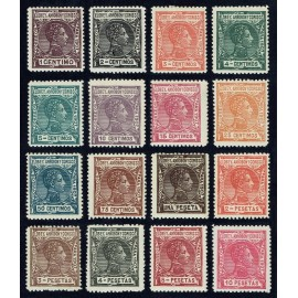 1907 ED. Elobey, Annobón y Corisco 35/50 * (2)