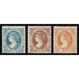 1869 ED. Cuba Telégrafos 4/6 *