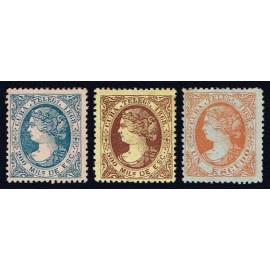 1868 ED. Cuba Telégrafos 1/3 *