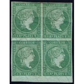 1855 ED. Antilles 2 * [x4]