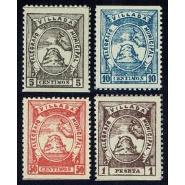 1901 ED. Telégrafos Particulares 13d/16d **