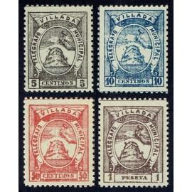 1901 ED. Telégrafos Particulares 13/16 **