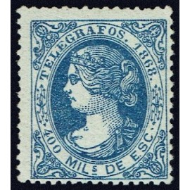 1868 ED. Telégrafos 22 * (3)