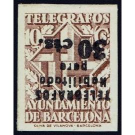 1942-1945 ED. Barcelona - Telégrafos 20his **