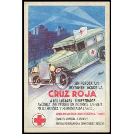Tarjeta Postal - Cruz Roja (6)