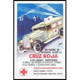 Tarjeta Postal - Cruz Roja (5)