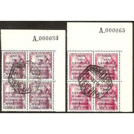 1950 ED. 1083A/1083B us [x4]