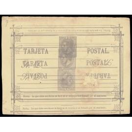 1882 ED. 11eh * Tarjetas Entero Postales