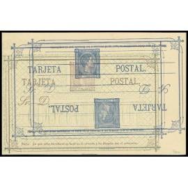 1875 ED. 8ec * Tarjetas Entero Postales