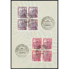 1951 ED. 1088/1089 us [x4]