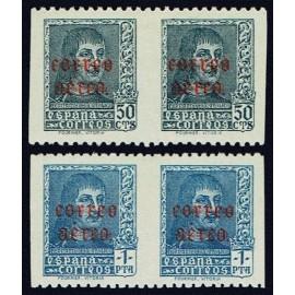 1938 ED. 845sv/846sv * [x2]