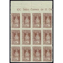 1937 ED. 833sh ** [x12]