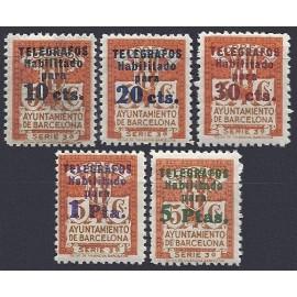 1934 ED. Barcelona - Telégrafos 4/8 **